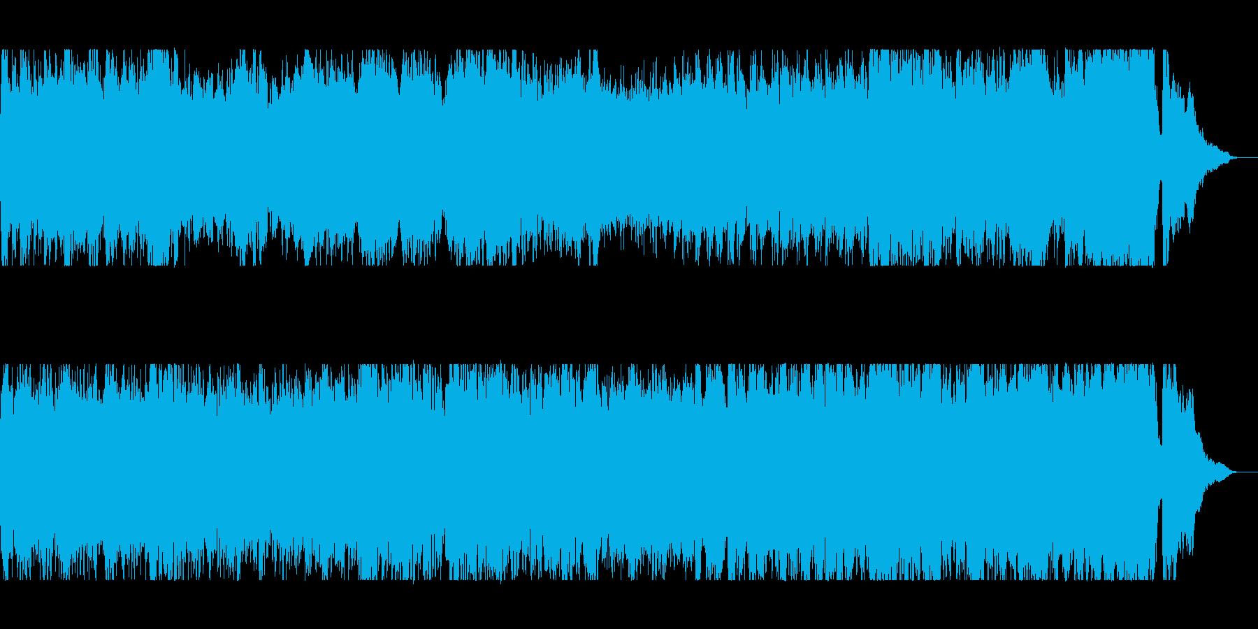 疾走感とワクワク感のシンセ管打楽器の再生済みの波形