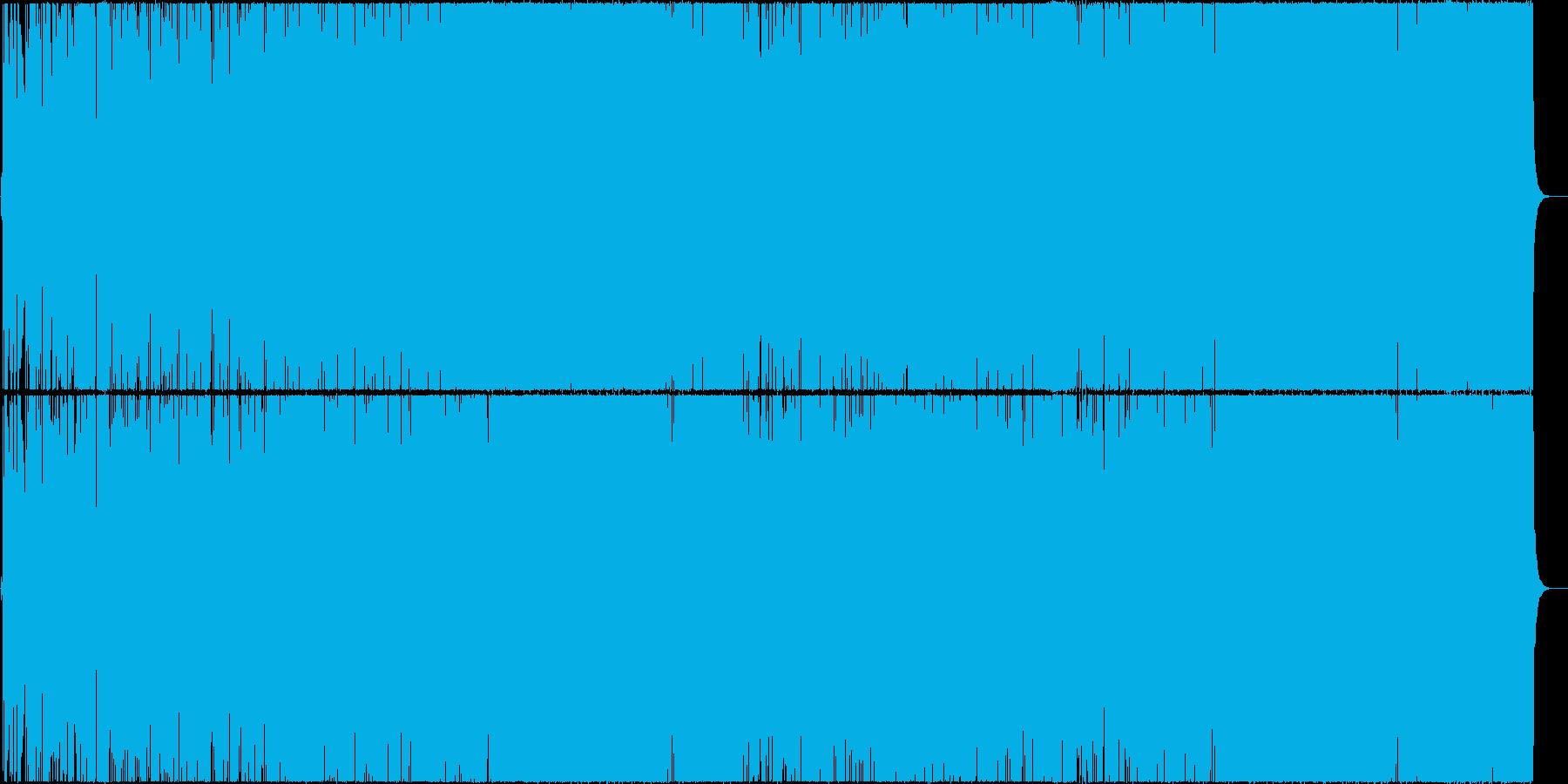 ウキウキとした生のフルートの軽快なBGMの再生済みの波形