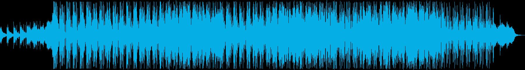 オリエンタルな雰囲気のバラード2の再生済みの波形