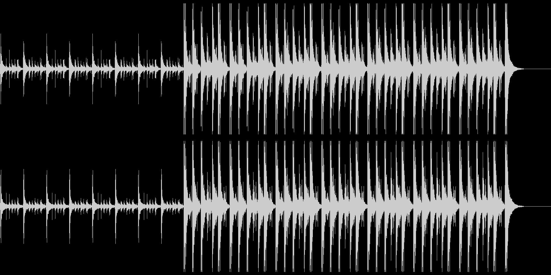 24秒 エスニックな手拍子の未再生の波形
