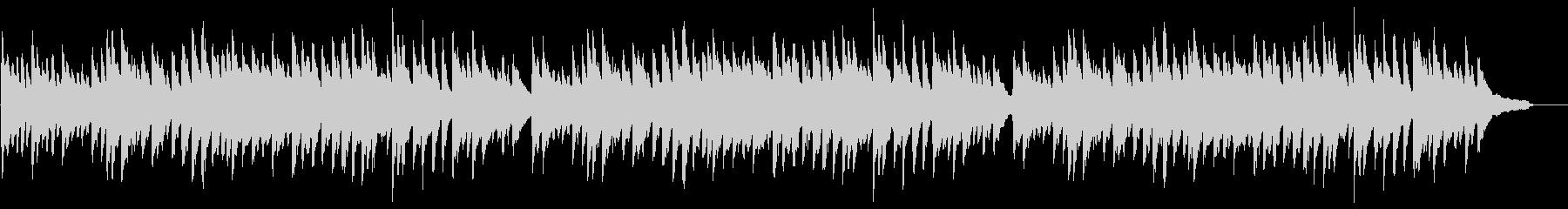 「ふるさと」ピアノ伴奏 ト長調の未再生の波形