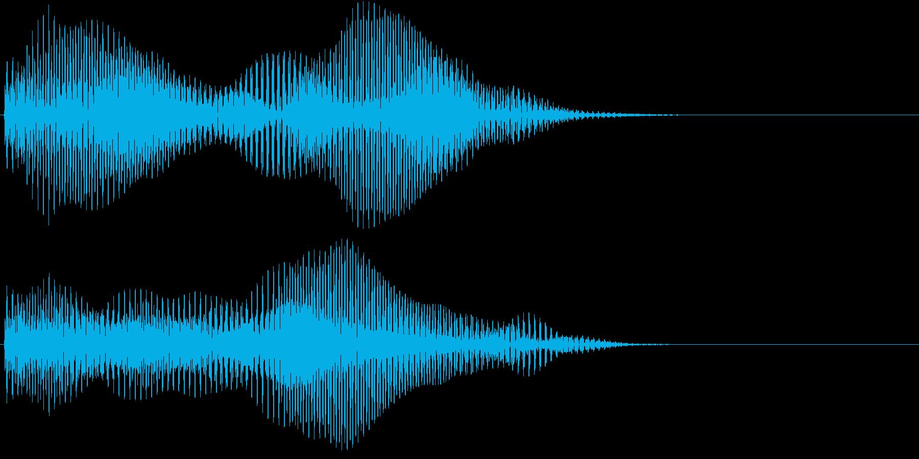 どぅーんんんの再生済みの波形