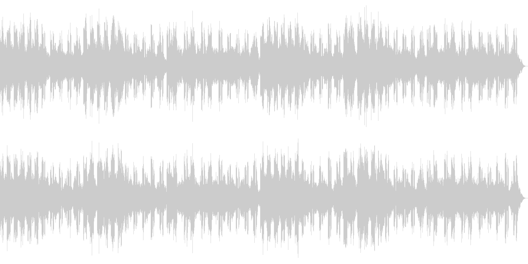 デーモンフィールド ダーク、荒廃した世界の未再生の波形