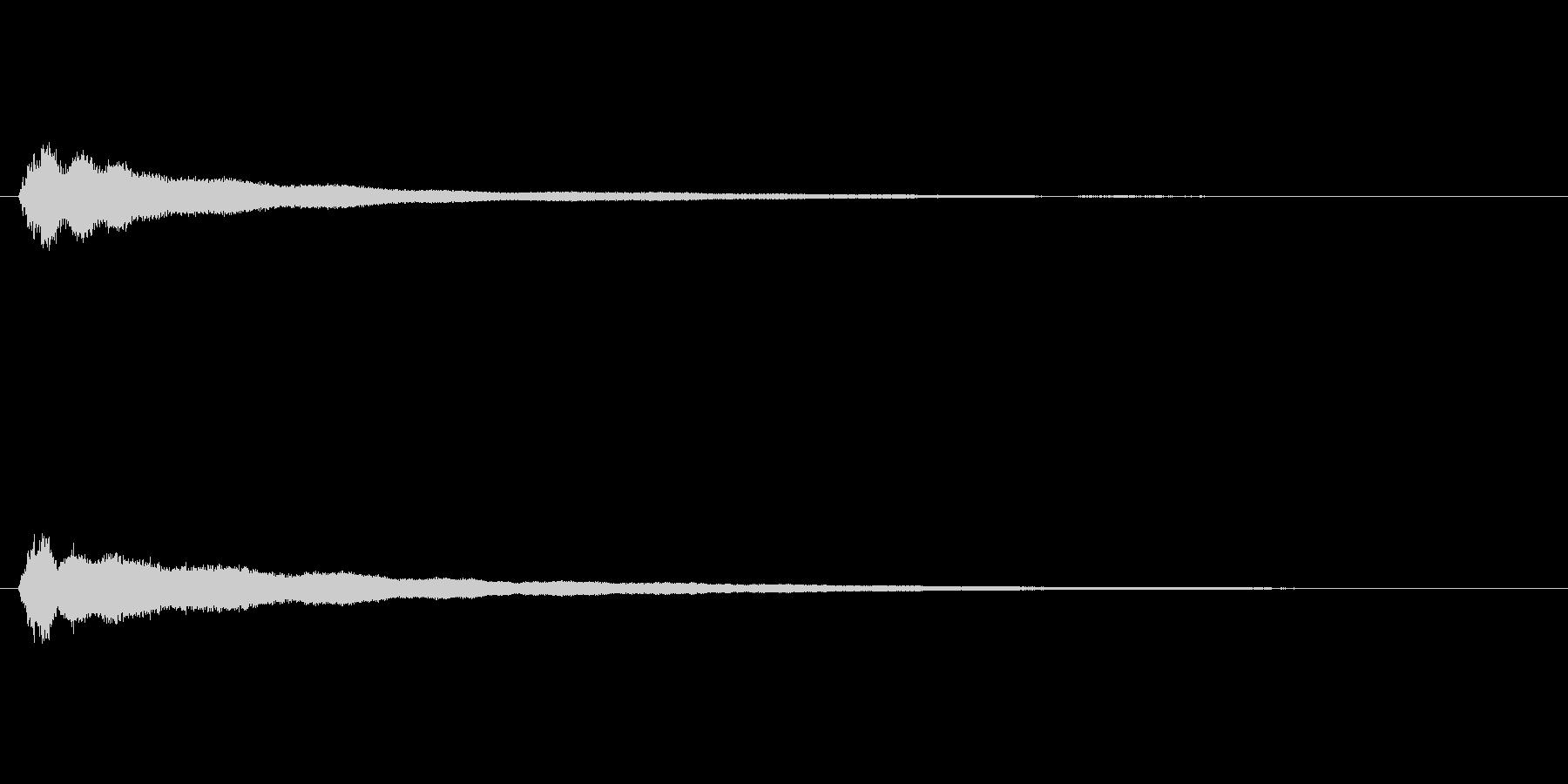 【鐘 お寺01-3】の未再生の波形