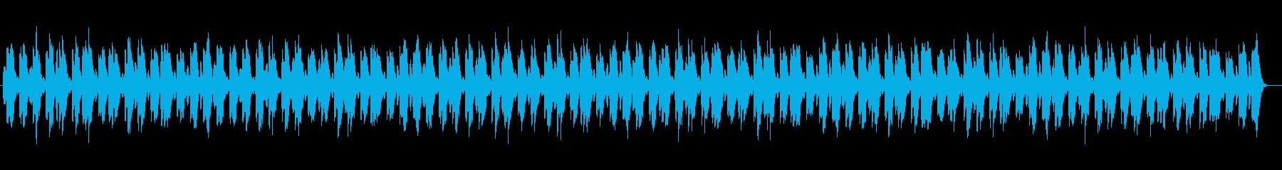 切なく美しいシンセサイザーサウンドの再生済みの波形