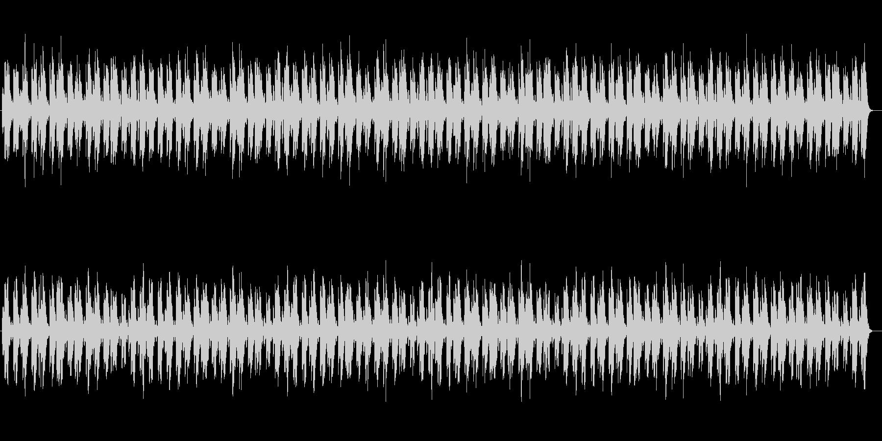 切なく美しいシンセサイザーサウンドの未再生の波形