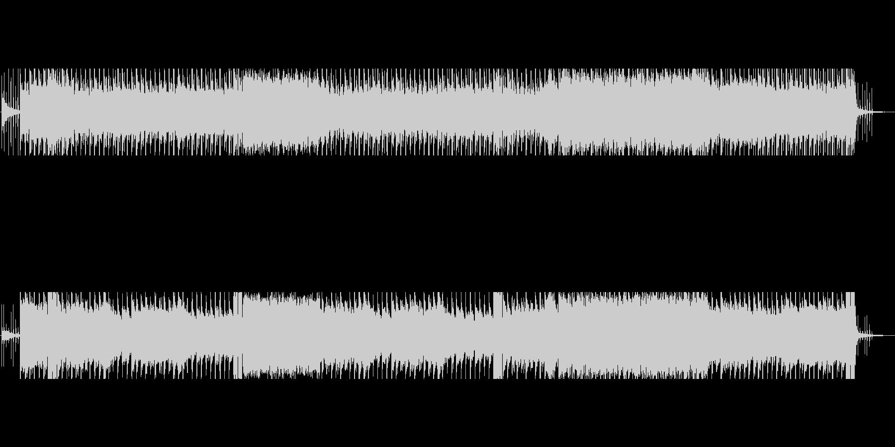 ダークファンタジーでスチームパンクな曲の未再生の波形