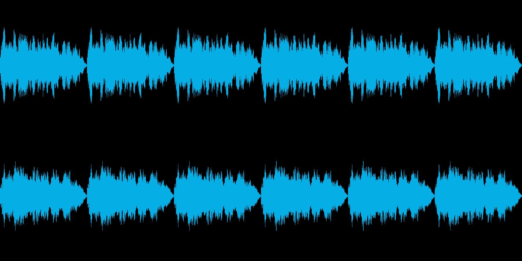 【夢の中/アンビエント/不思議】の再生済みの波形