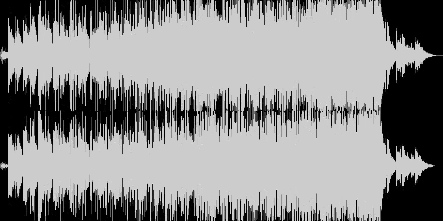 バンド系のバラード曲の未再生の波形