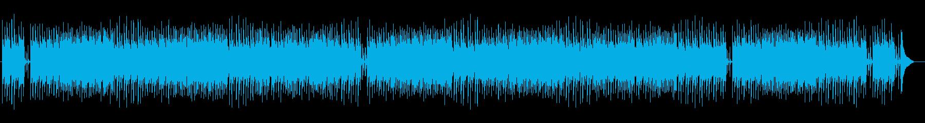 シンプルで爽やかなピアノとアコギサウンドの再生済みの波形