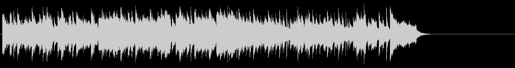 心安まるミディアムポップ(サビ~エンド)の未再生の波形