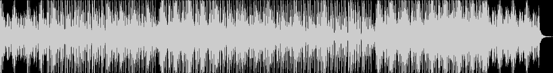 ダブ的なチルアウトミュージック。の未再生の波形