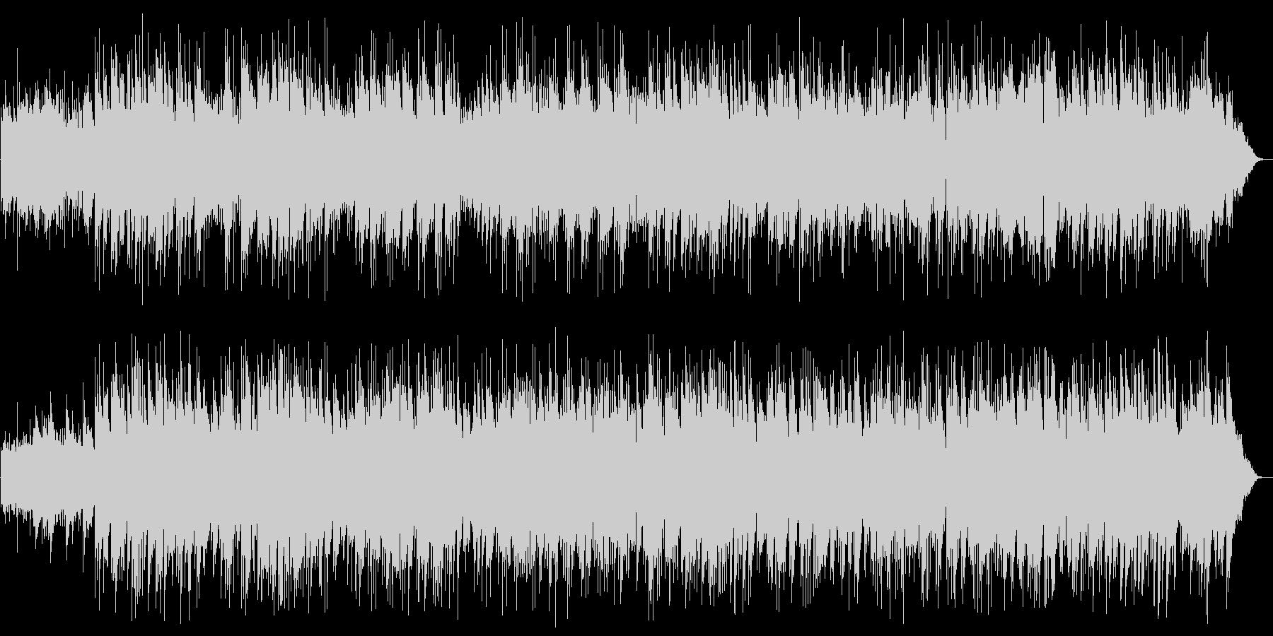 ギターのイージーリスニングの未再生の波形