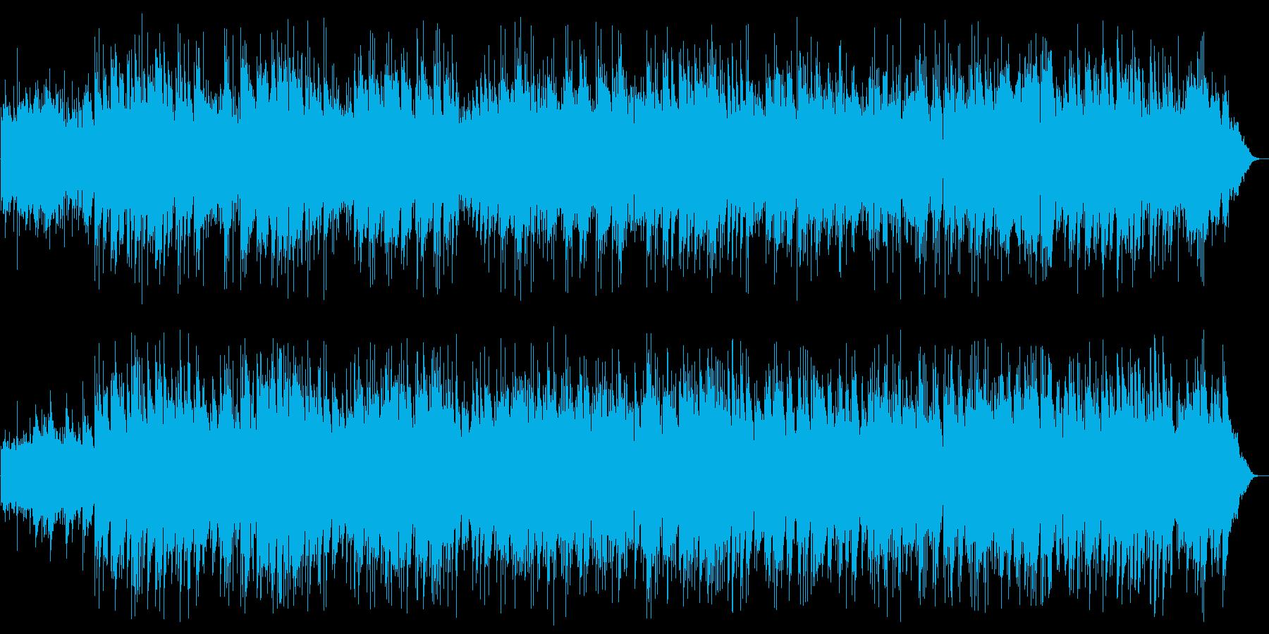 ギターのイージーリスニングの再生済みの波形