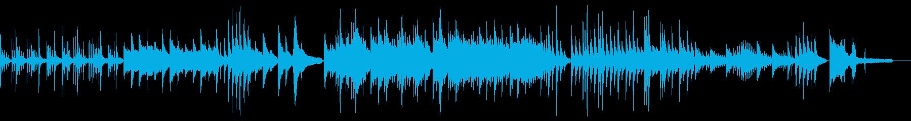リラックス 静かな和風ソロピアノ生演奏 の再生済みの波形