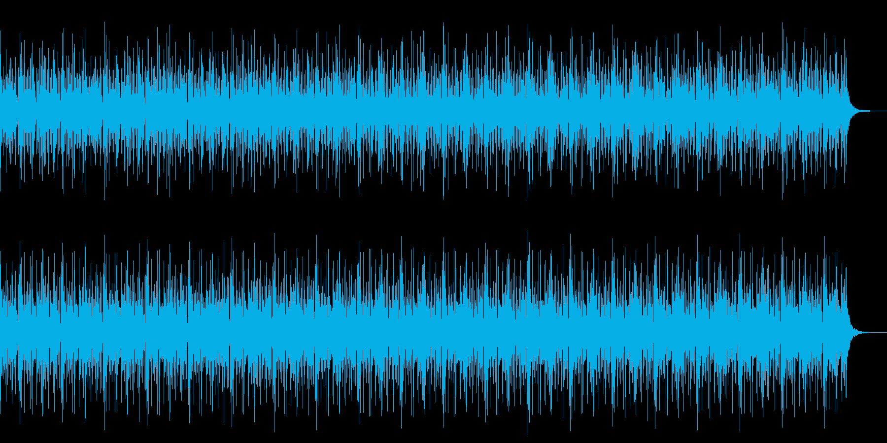 リズムパートのみの再生済みの波形