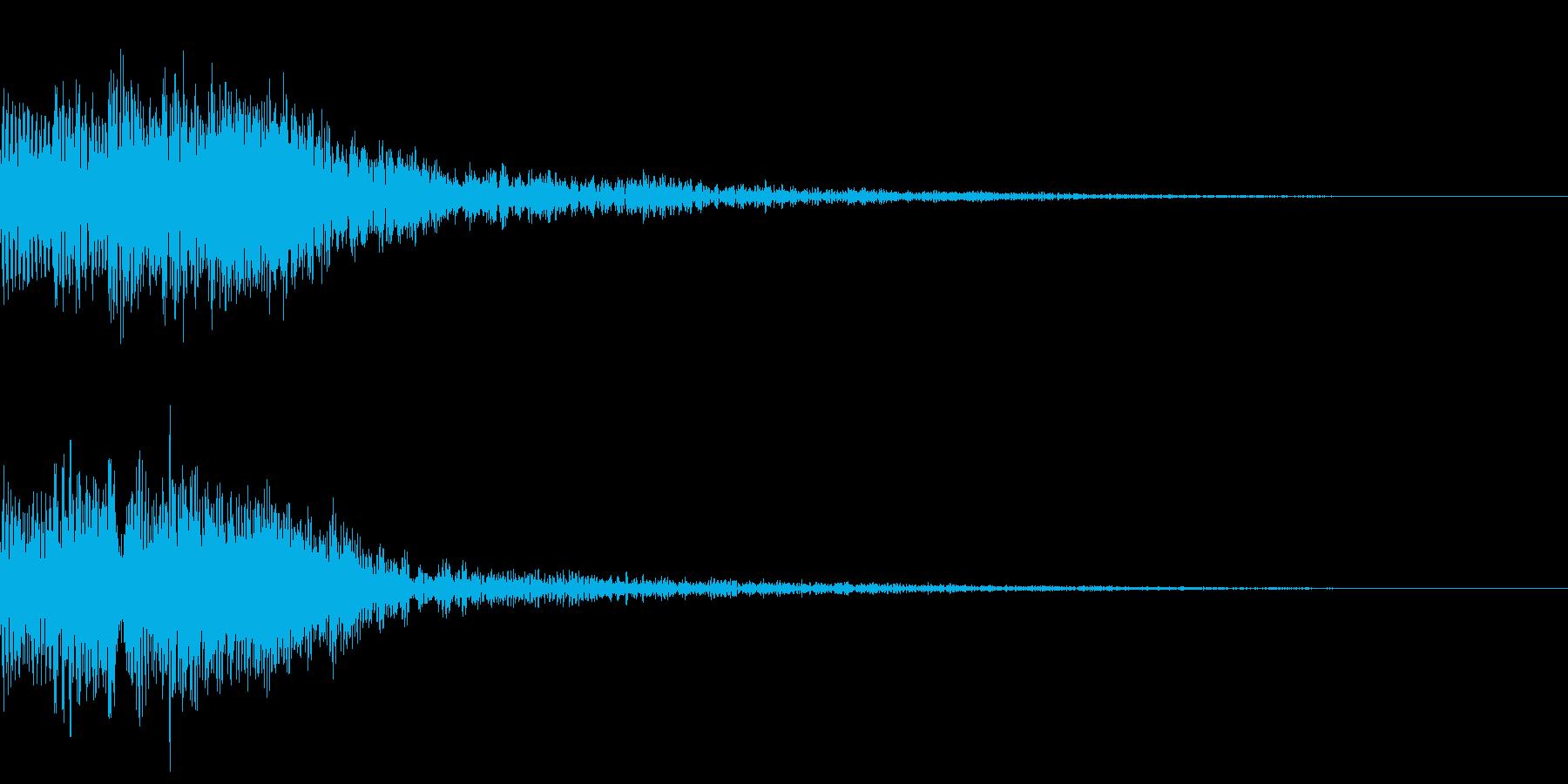 次のニュースです テレレレンの再生済みの波形