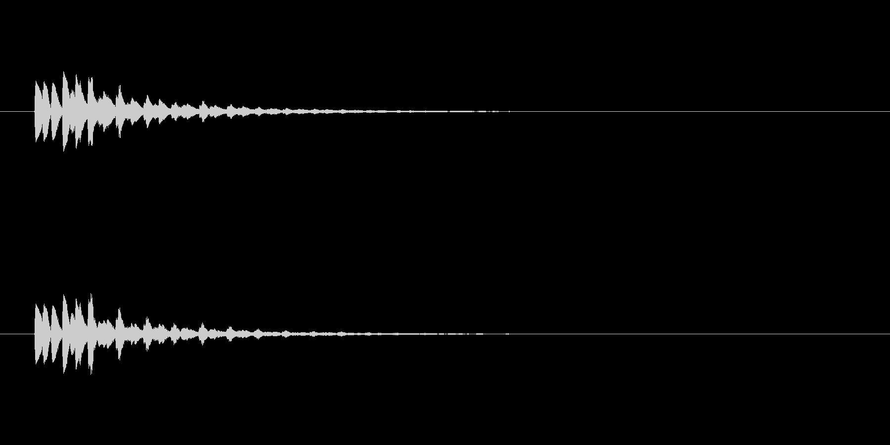 【ショートブリッジ17-2】の未再生の波形