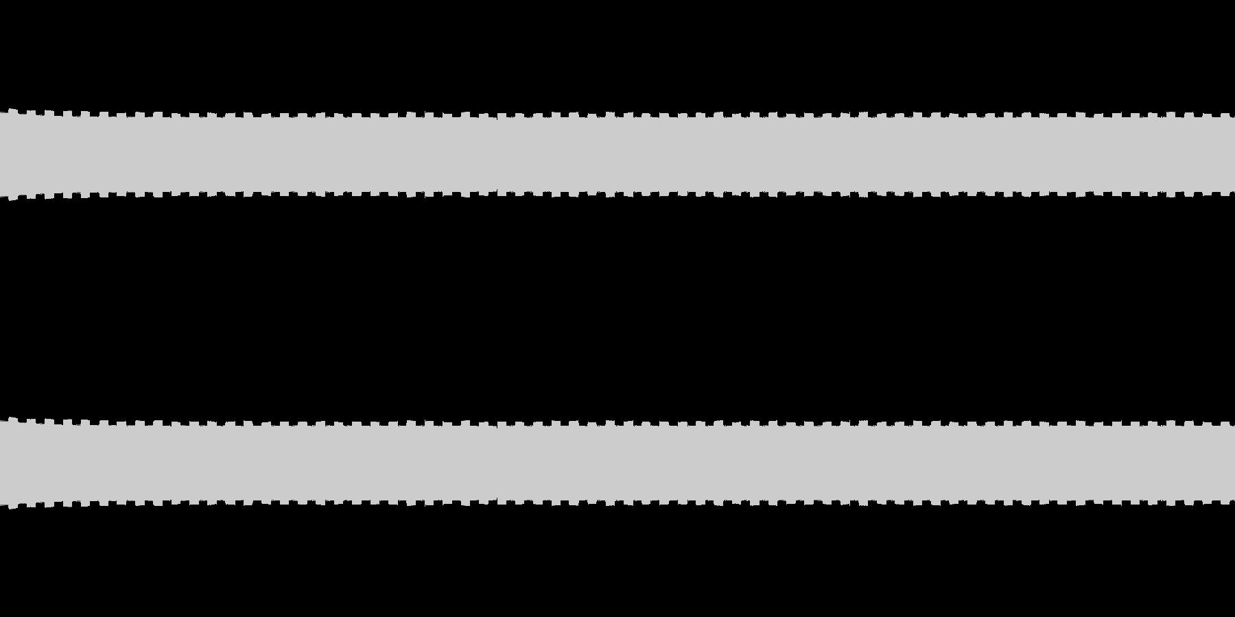 控えめなカウント、ゲージ音 ループ可の未再生の波形