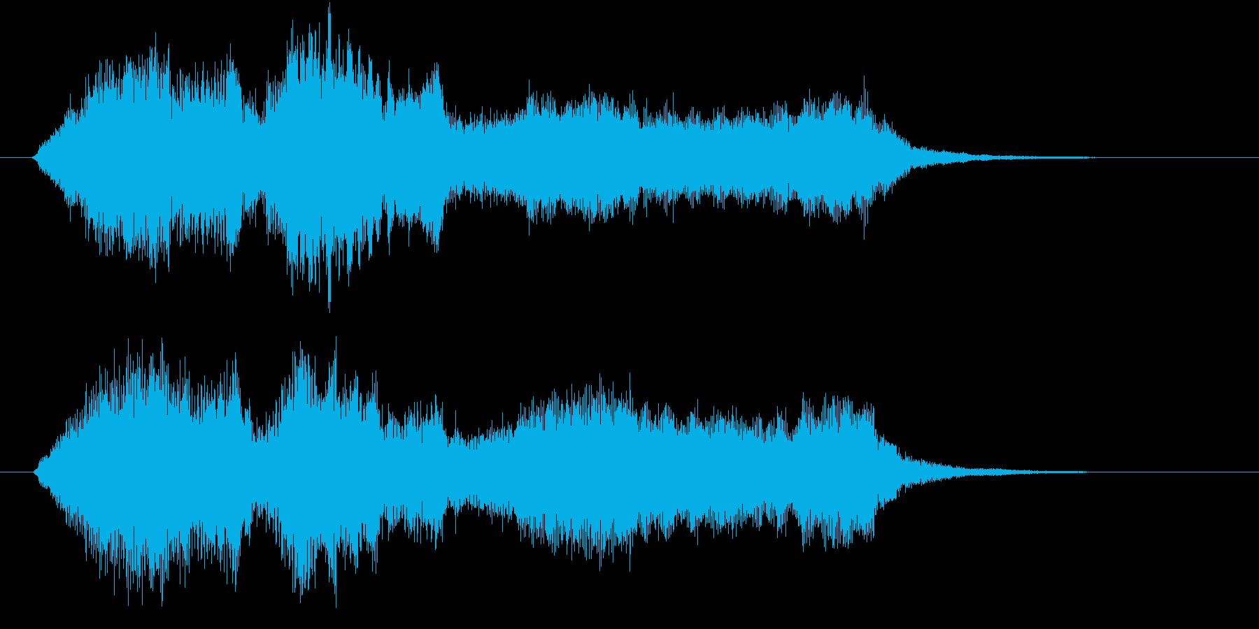 生演奏:やわらかい雰囲気の弦楽四重奏の再生済みの波形
