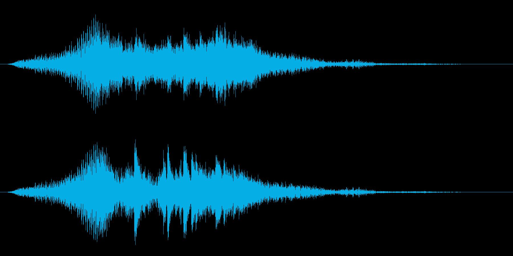 タイトル用2 グリーグ作 ピアノ協奏曲の再生済みの波形