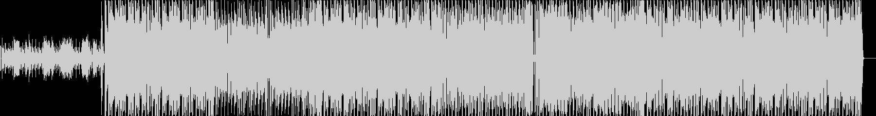 ブラックミュージック系ダンストラックの未再生の波形