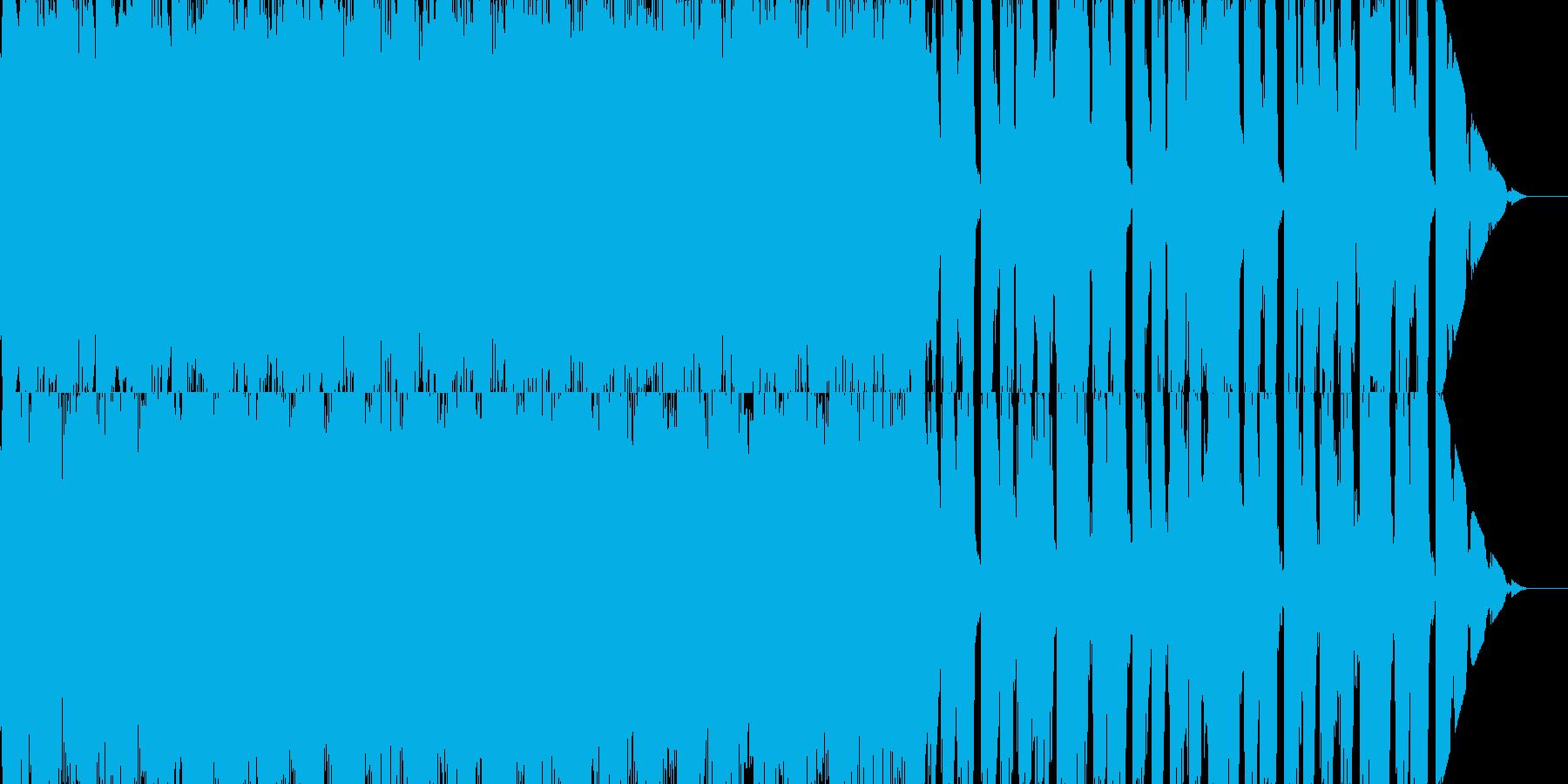 楽し気だけどせつないBGMの再生済みの波形