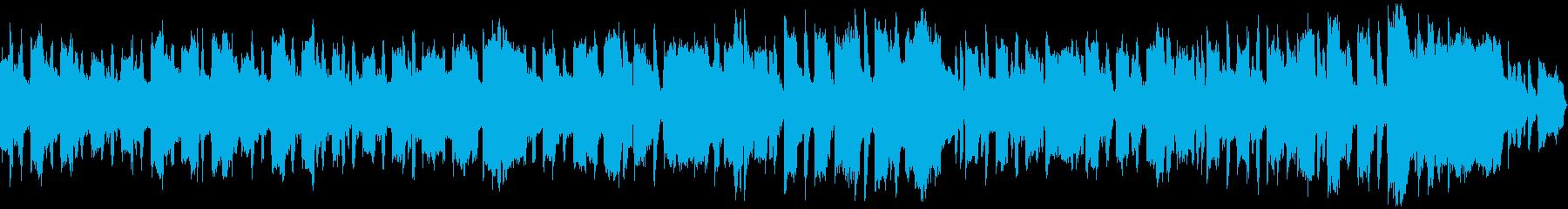 ファンタジーの街に合いそうなBGMの再生済みの波形