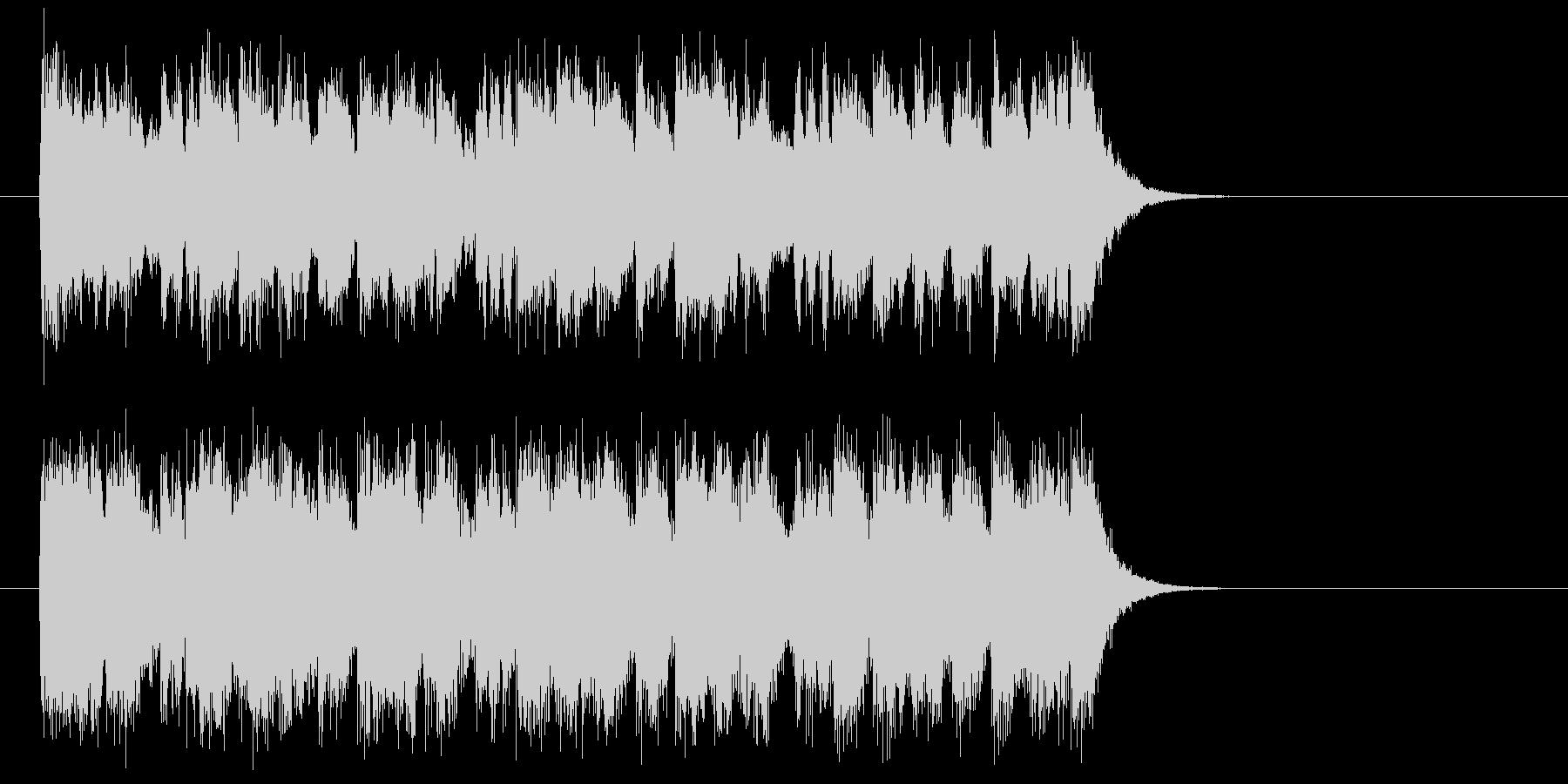 勇者のオーケストラ風音楽(イントロ)の未再生の波形