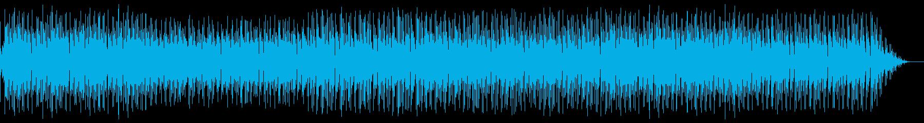 雰囲気ラテンインストの再生済みの波形