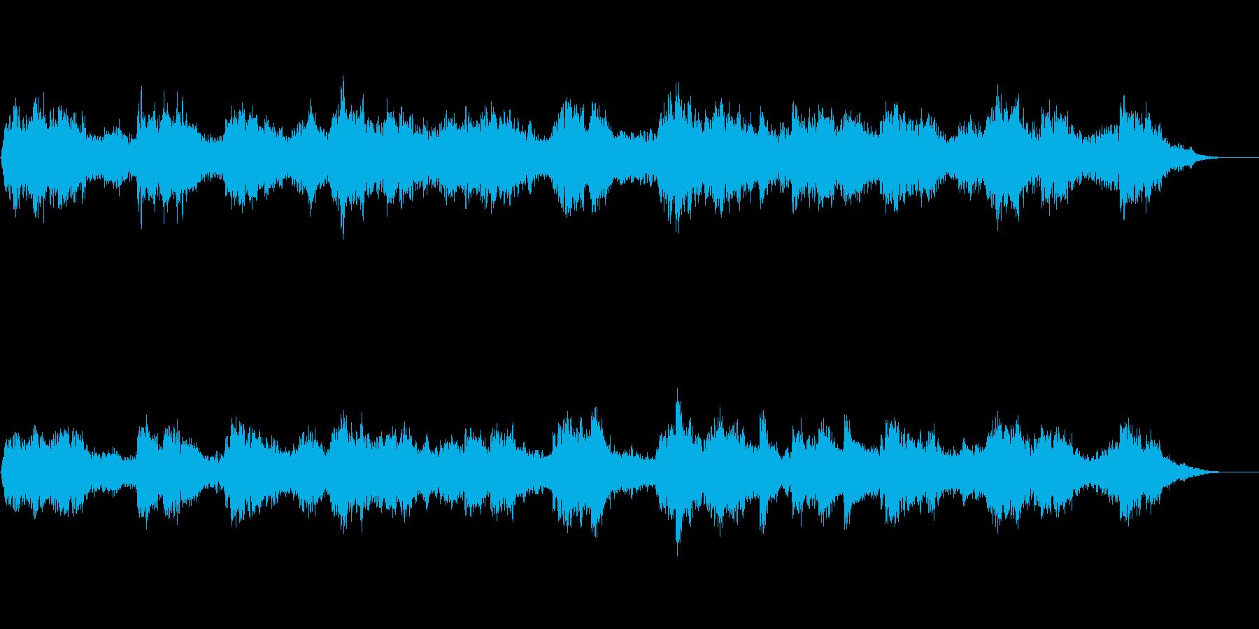 トルコ笛ナーイによる神秘的で怪しい音風景の再生済みの波形