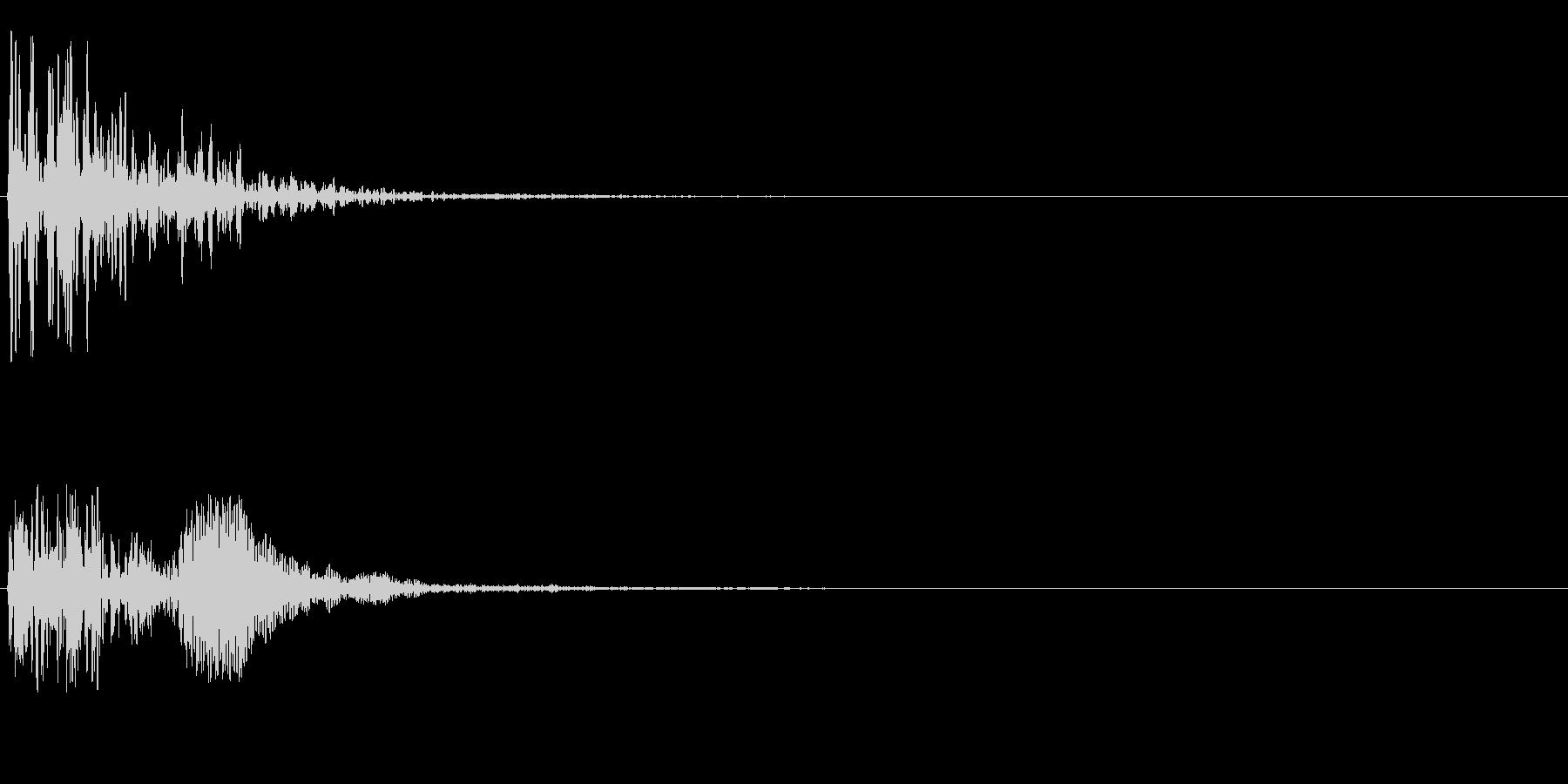 グォンの未再生の波形