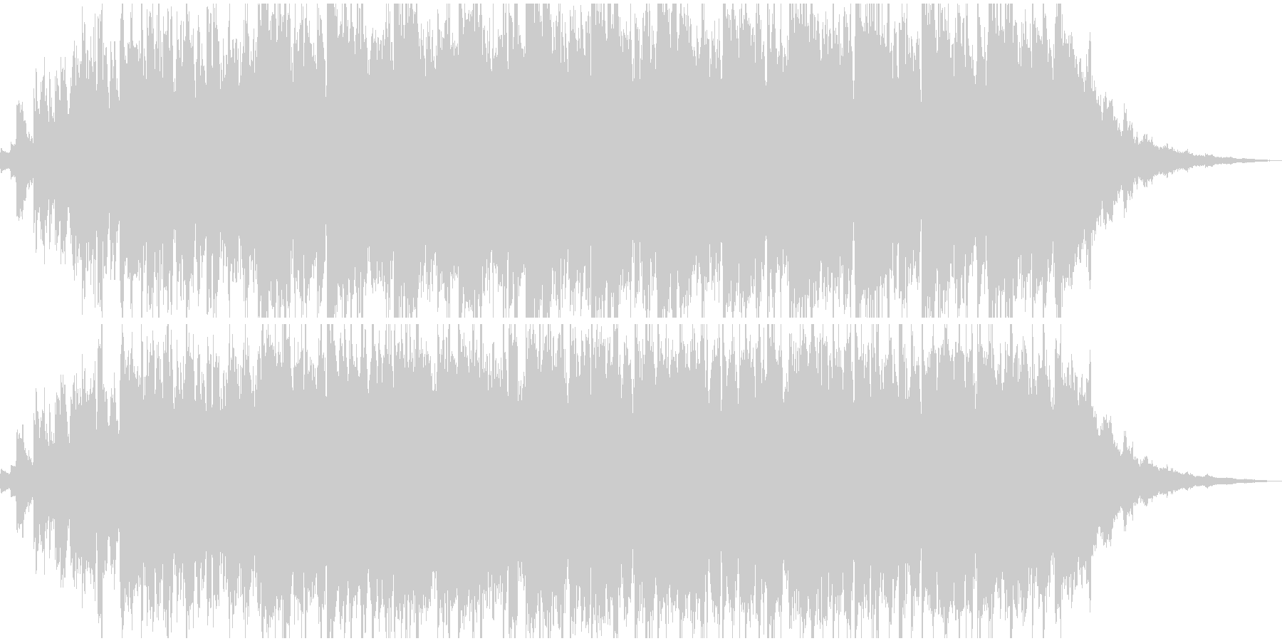 CM用短めアンビエントその2の未再生の波形