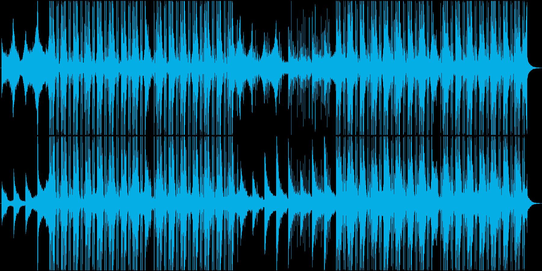 ストリングスメインのテックビート系の再生済みの波形