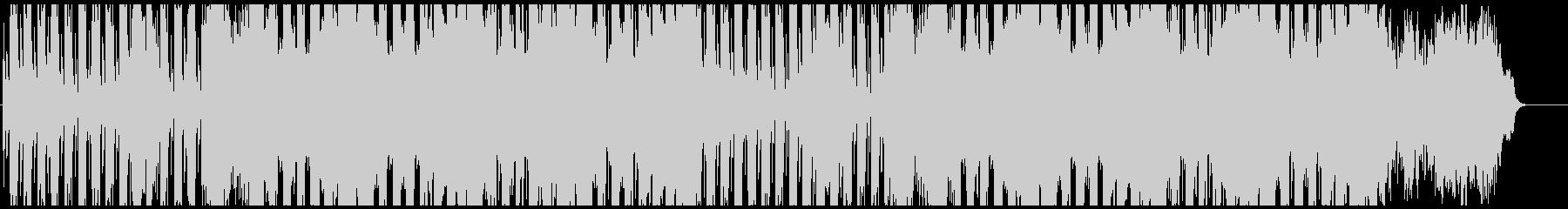 和楽器とシンセの和風楽曲の未再生の波形