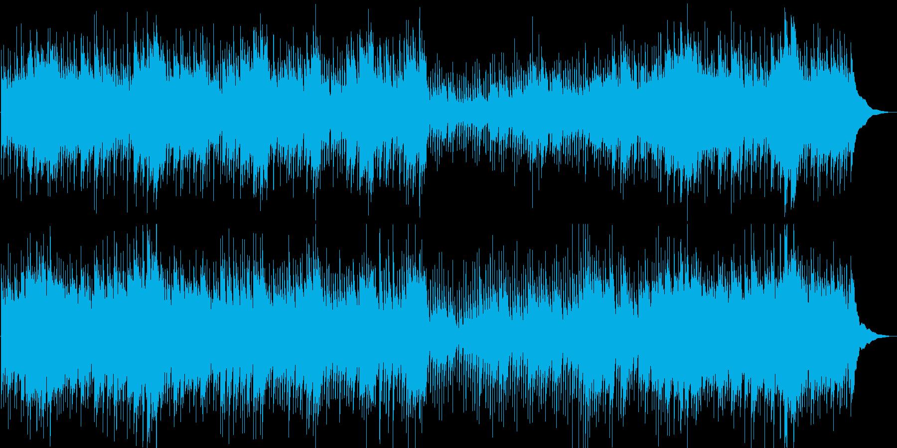 切ない・幻想・ロマンチック・ギター・映像の再生済みの波形