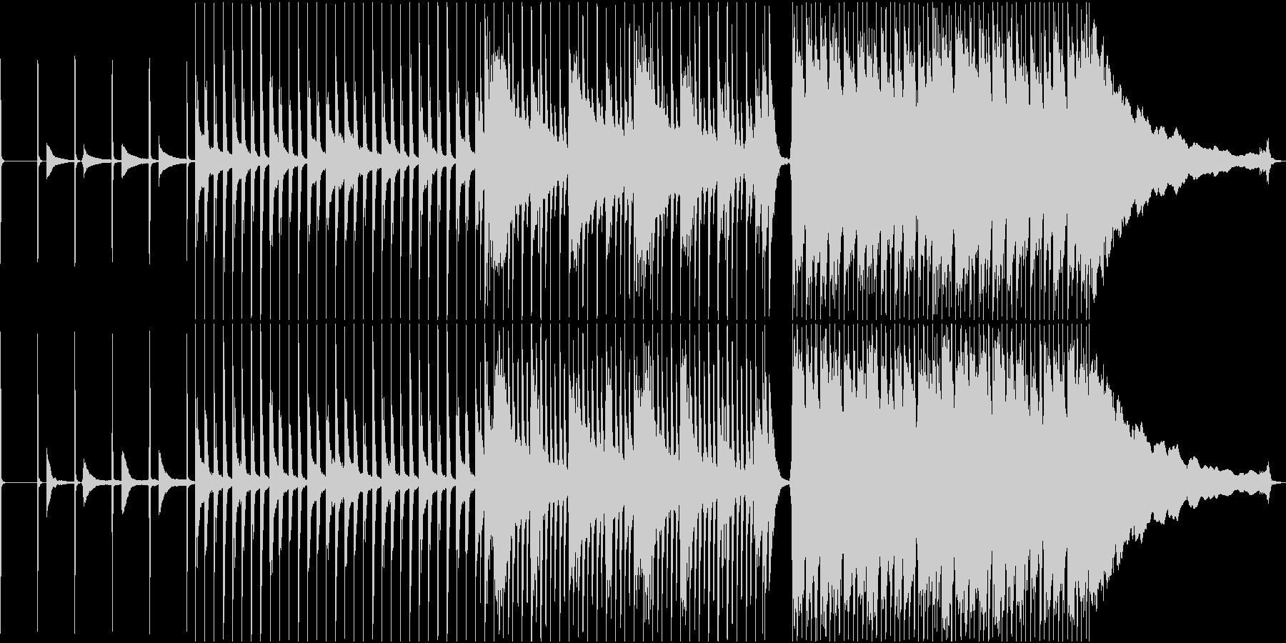 Apple Likeでクールめなロックの未再生の波形