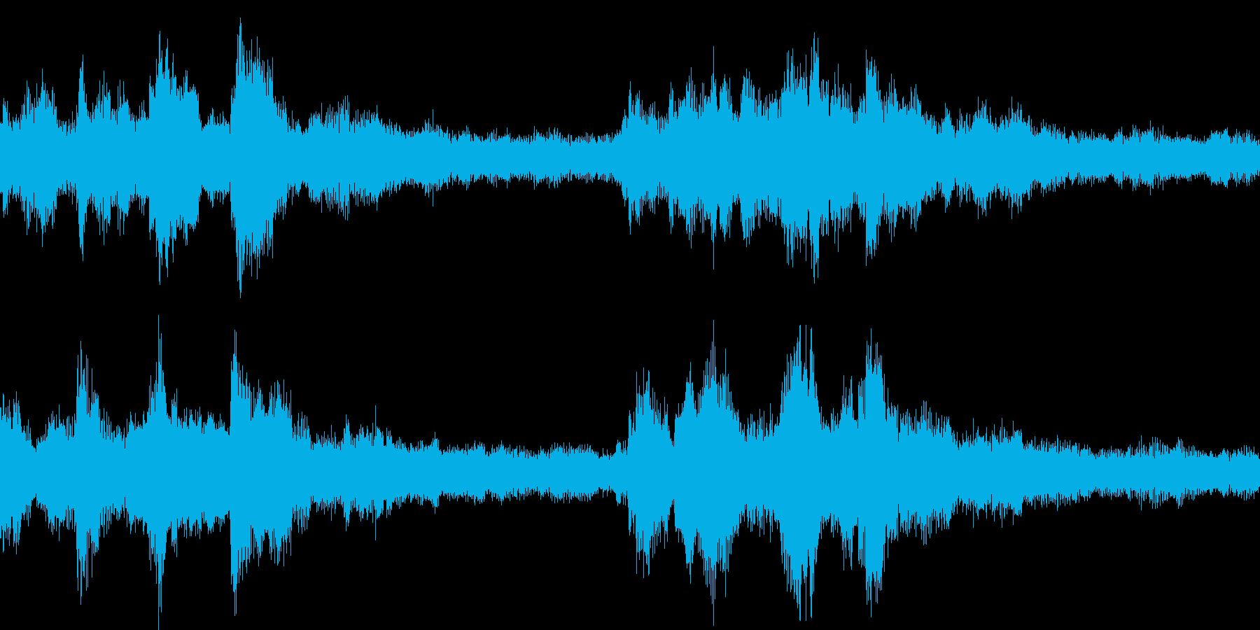 琴やシンセを使った和風なジングル_ループの再生済みの波形