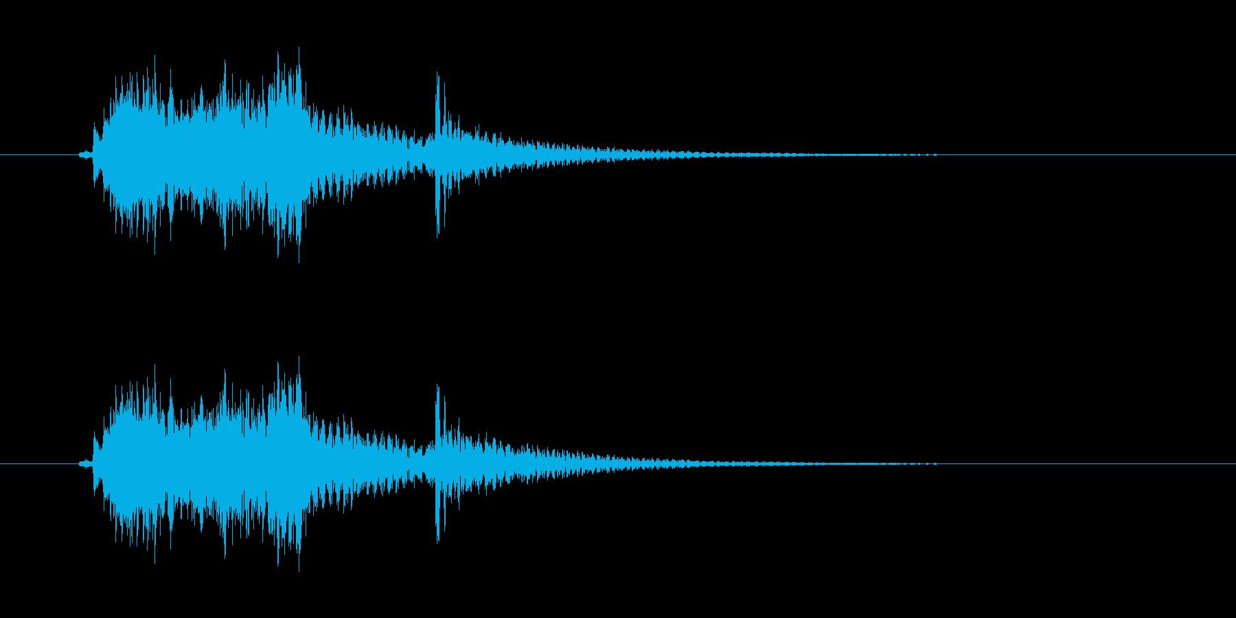 和風、琴シャラララ-カン!の再生済みの波形