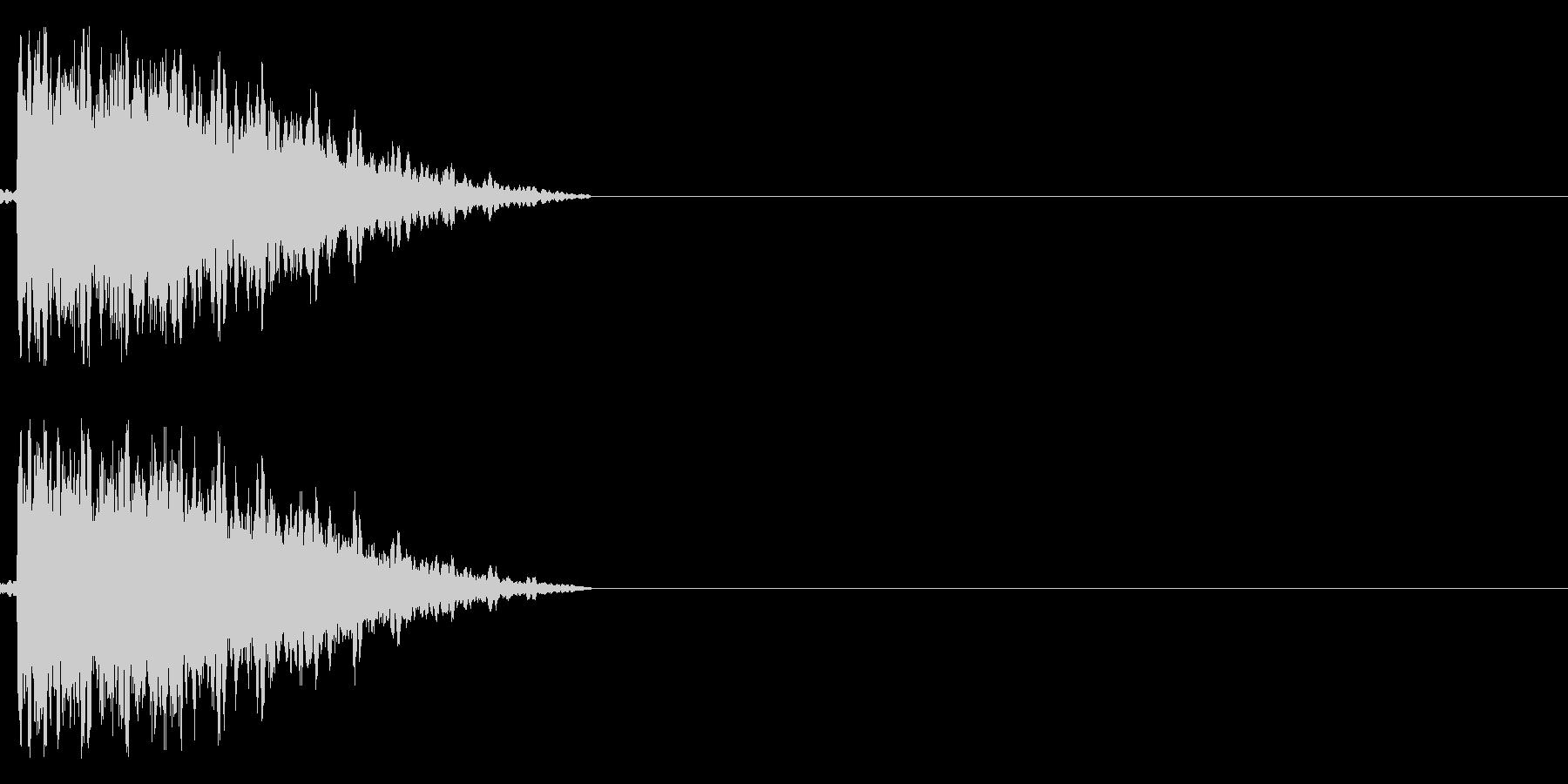 ガシュン(ロボ、機械系)の未再生の波形