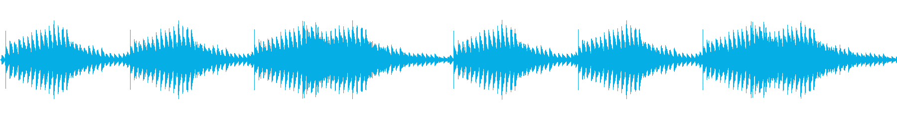 【ニュース/ドキュメンタリー/ジングル】の再生済みの波形
