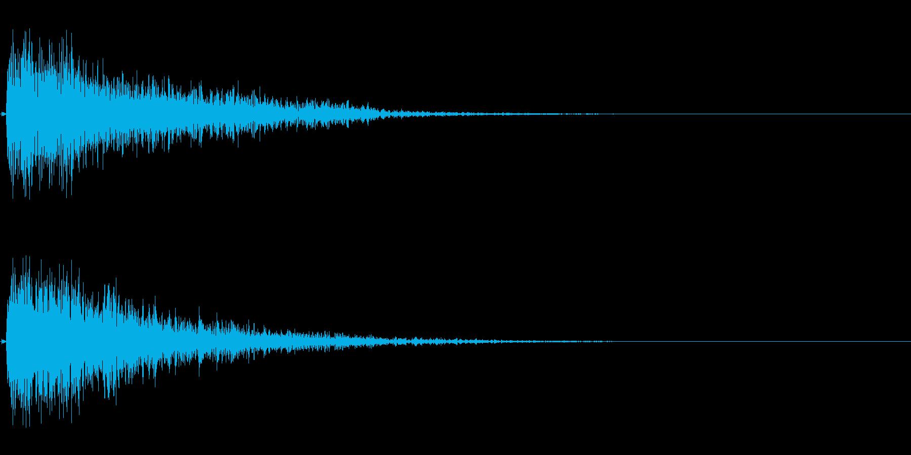 【出題01-1】の再生済みの波形