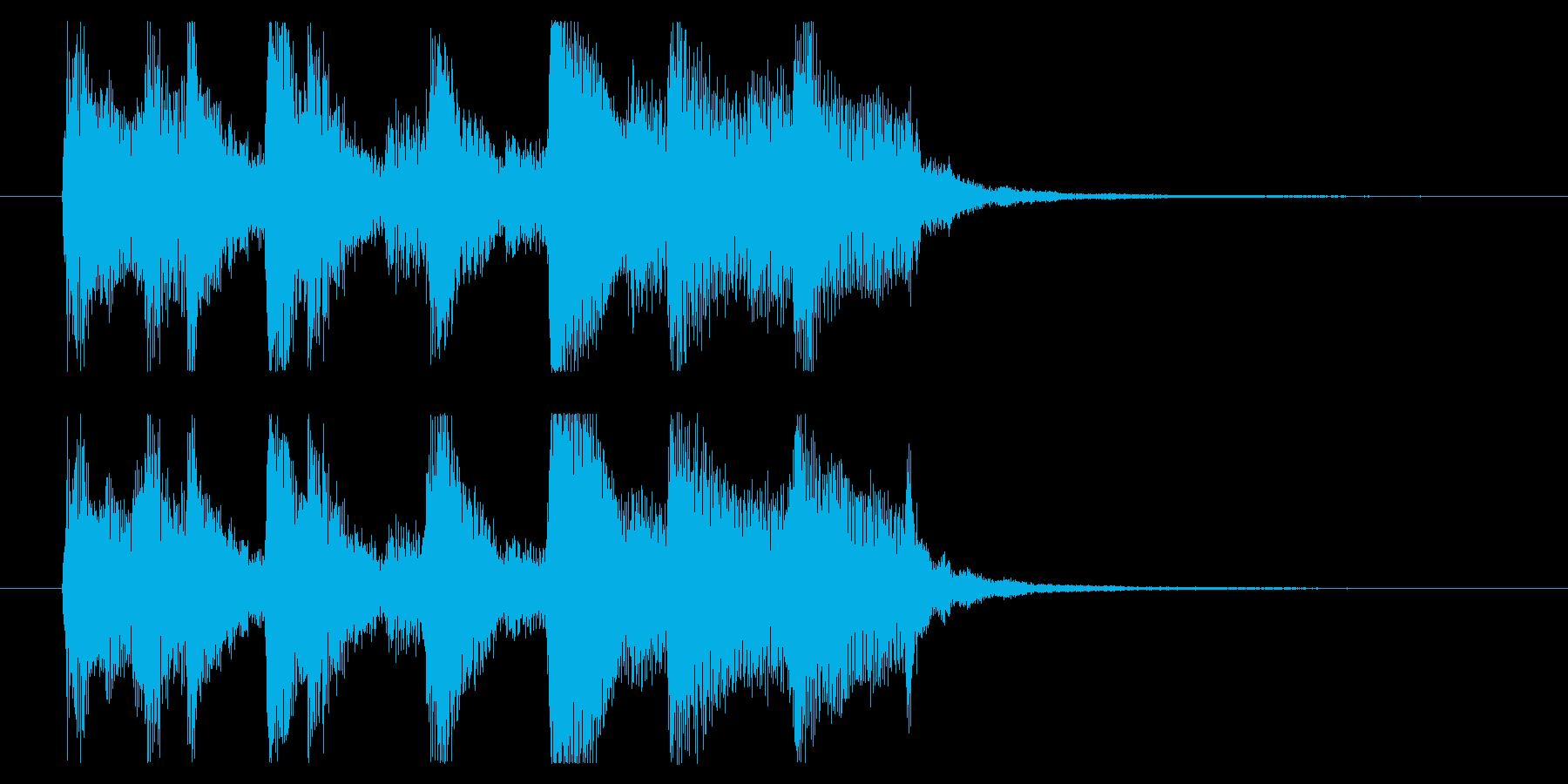 【めんそーれ1】の再生済みの波形