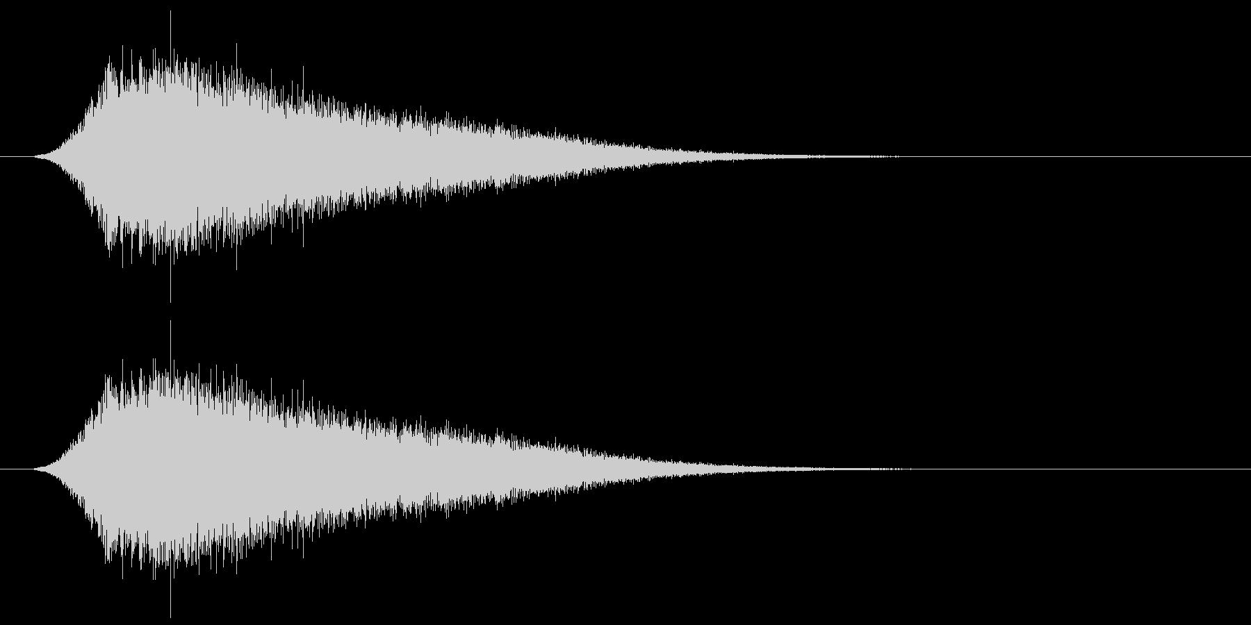 キラキラ/回復アイテム/癒しの未再生の波形