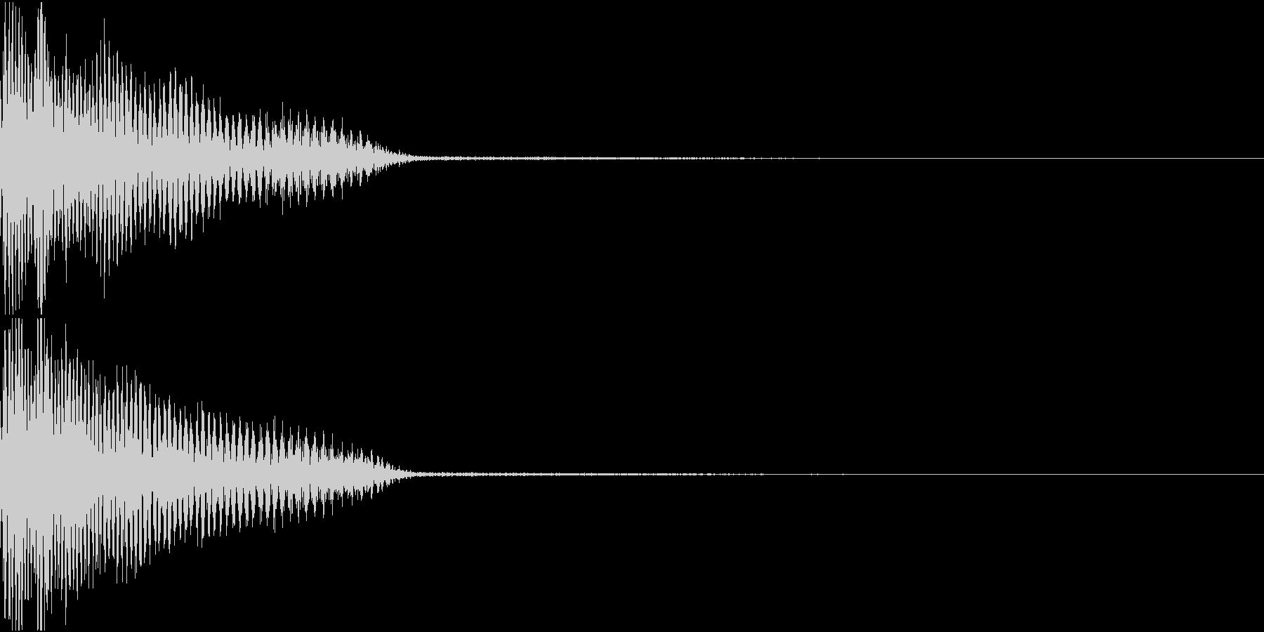InvaderBuzz 発砲音 26の未再生の波形