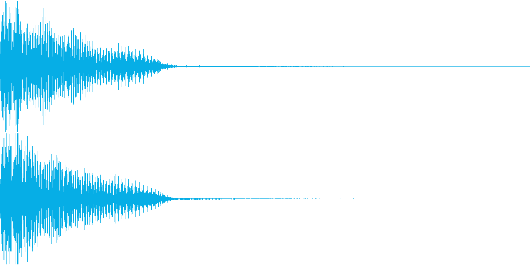 InvaderBuzz 発砲音 26の再生済みの波形