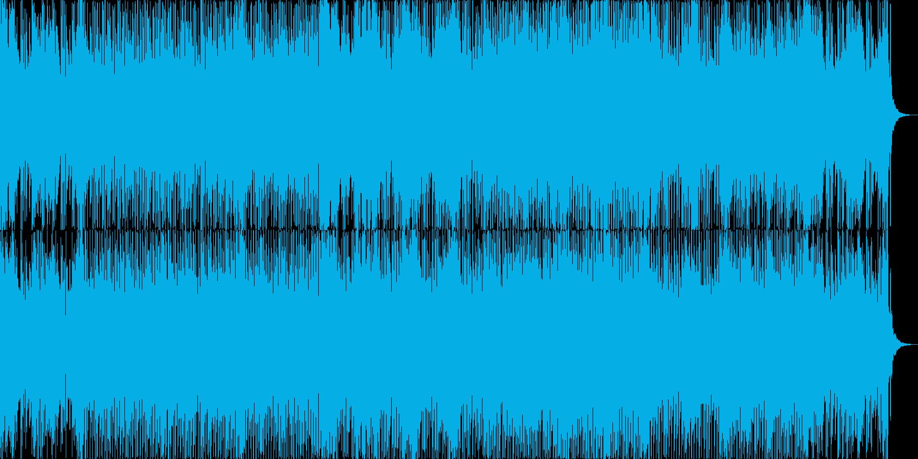 和風ゲーム音楽・BGMの再生済みの波形