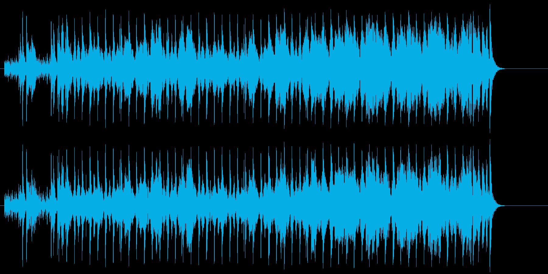 ほのぼのしたポップジャズ(イントロ~…)の再生済みの波形