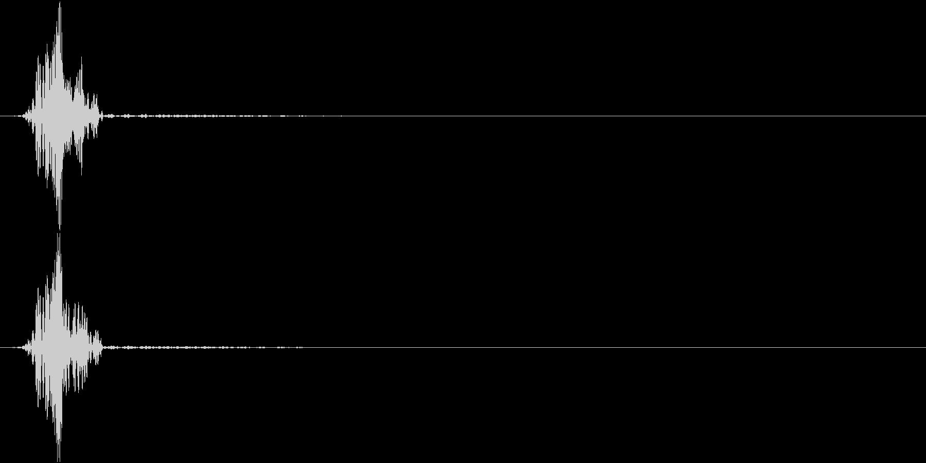 KAKUGE 格闘ゲーム戦闘音 16の未再生の波形