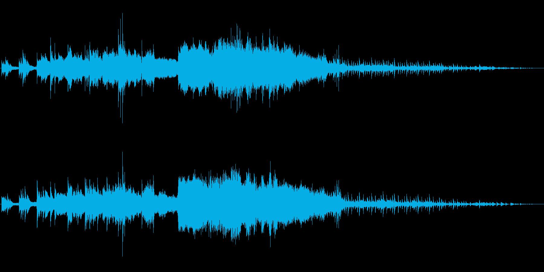 ファンタジーオーケストラの再生済みの波形